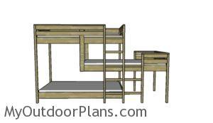 triple-bunk-bed-plans