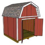 10×10 Barn Shed Plans