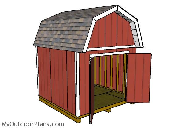 10x10-gambrel-shed-plans