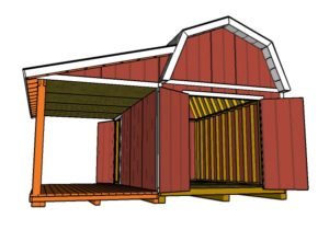 10x16-gambrel-shed-with-porch-plans