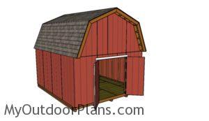 14x16-gambrel-shed-plans