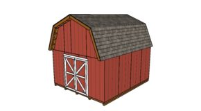 14×16 Barn Shed Plans