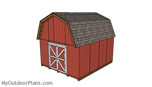 14x16 Barn Shed Plans Myoutdoorplans Free Woodworking