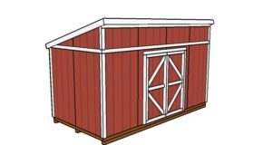 8×16 Shed Plans