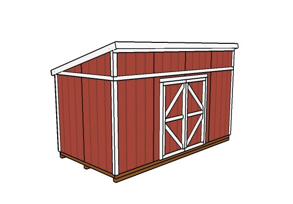 8x16 Shed Plans