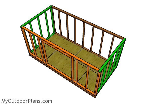 assembling-the-8x16-shed-frame