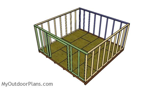 assembling-the-shed-frame