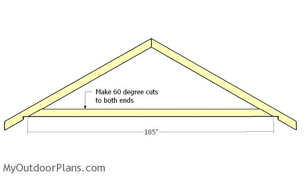 16x16 Gable Shed Roof Plans Myoutdoorplans Free