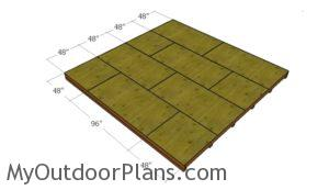 attaching-the-flooring-sheets