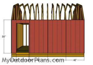 barn-shed-siding-side-wall-with-door