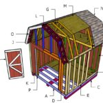 10×10 Gambrel Shed Roof Plans