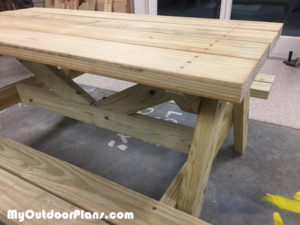 building-a-picnic-table-for-children