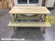 DIY Children Picnic Table
