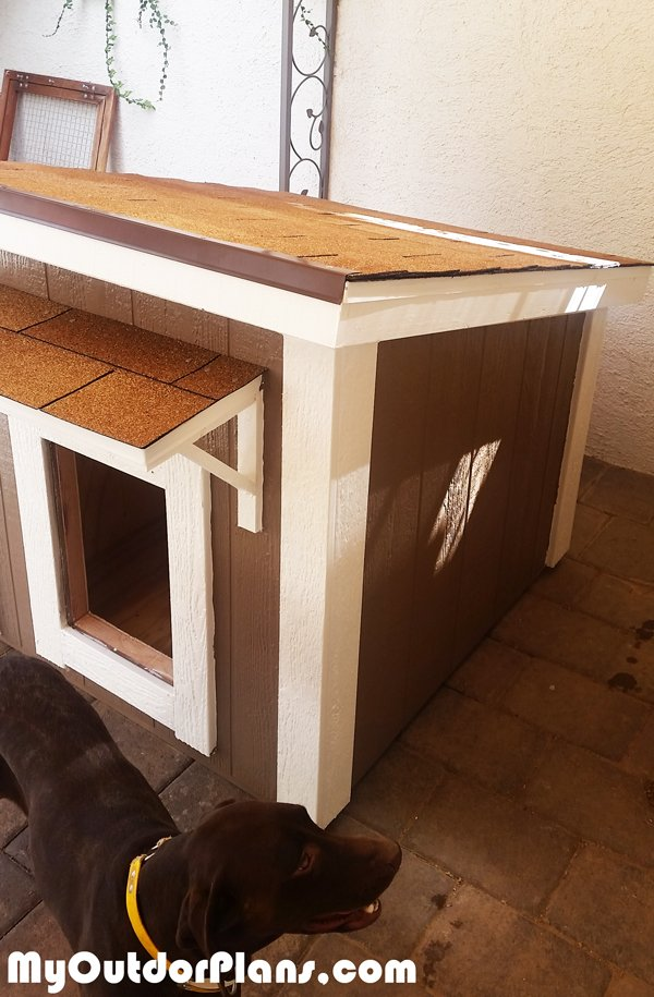 Diy large insulated dog house myoutdoorplans free for Insulated heated dog house