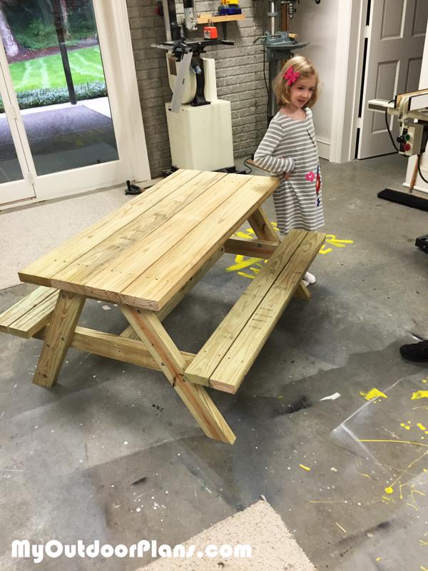 Diy Children Picnic Table Myoutdoorplans Free