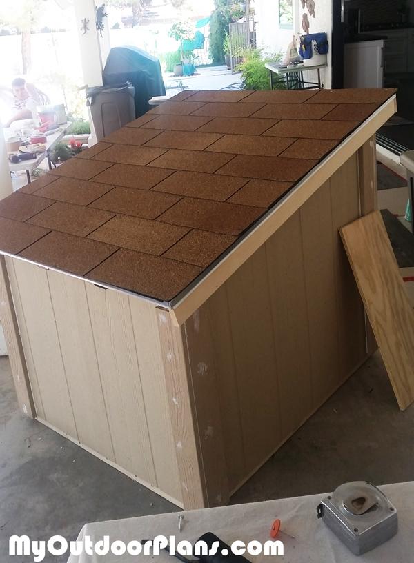 DIY Large Insulated Dog House | MyOutdoorPlans | Free ...