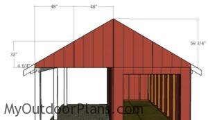 fitting-the-gable-end-panels