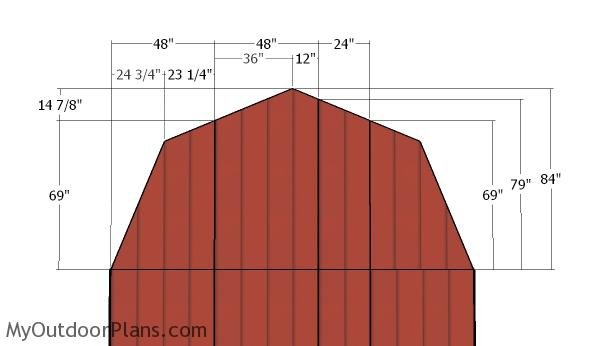 14x16 Barn Shed Roof Plans Myoutdoorplans Free