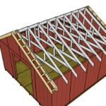 16×16 Gable Shed Roof Plans