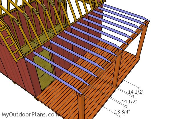 fitting-the-porch-bottom-rafters