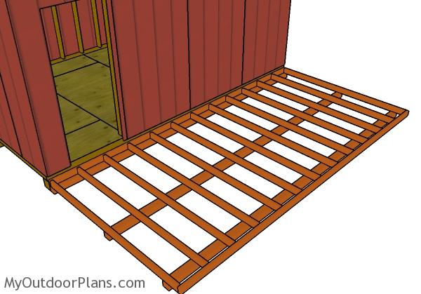fitting-the-porch-deck-frame