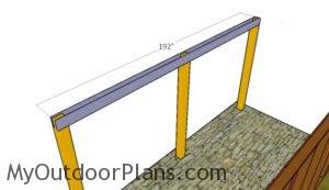 fitting-the-roof-support-beamsfitting-the-roof-support-beams