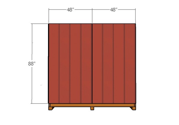fitting-the-siding-panels-to-back