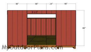 front-siding-panel