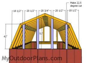gambrel-end-supports