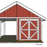 6′ Double Shed Doors Plans