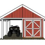 Shed with Porch Plans