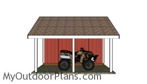 shed-with-porch-plans-left-side-view