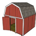 12×12 Barn Shed Plans