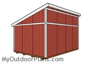 12x16-lean-to-shed-plans-back-view