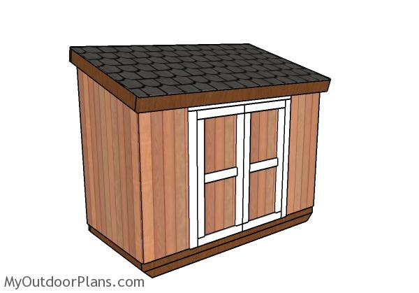 4x8-short-shed-with-lean-to-roof-plans