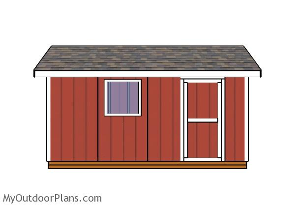 8x16-gable-shed-plans-front-view