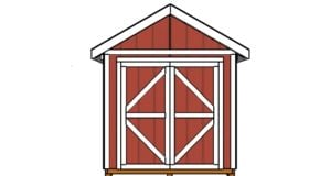 Shed Doors Plans