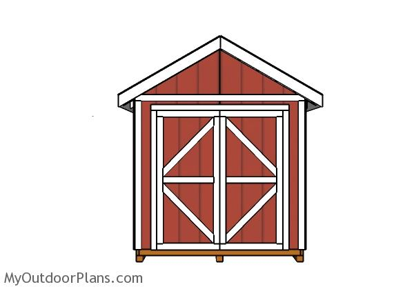 8x16-gable-shed-plans-side-with-door