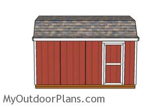 8x16-gambrel-shed-plans-side