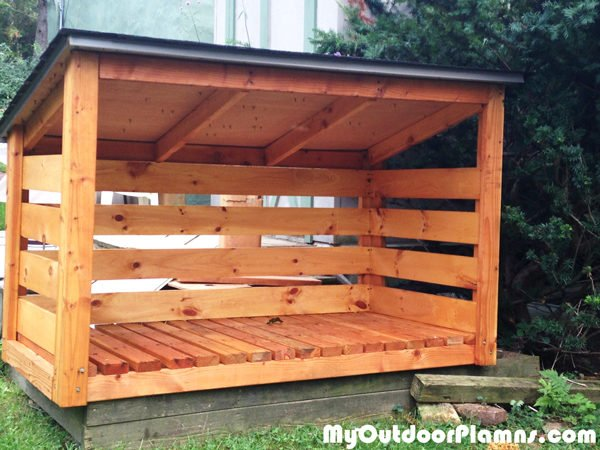 Backyard Wood Shed Plans | MyOutdoorPlans | Free ...