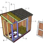 4×8 Short Shed Roof Plans