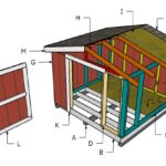 Building a 8×8 Short Shed with Gable Roof