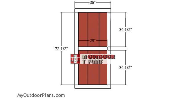 Building-a-shed-door
