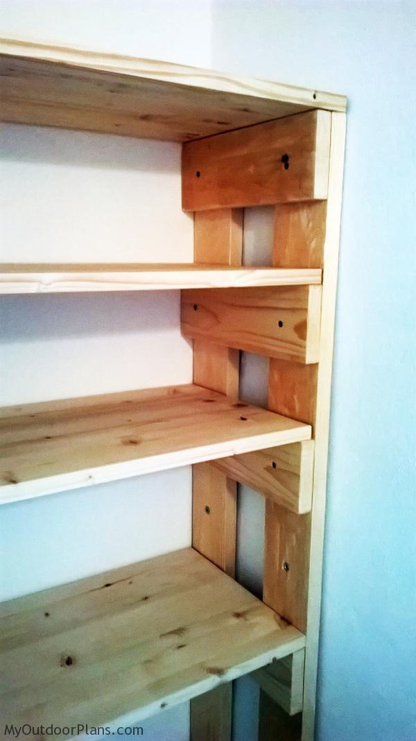 DIY Wood Garage Shelves | MyOutdoorPlans | Free ...