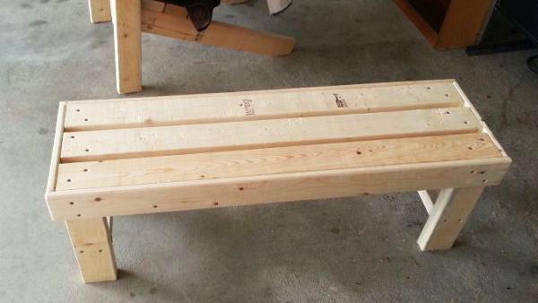 Diy Outdoor Bench Seat Plans