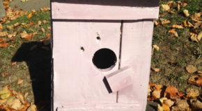 DIY Simple Pallet Birdhouse