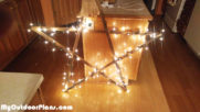 Diy Stick Star with Lights