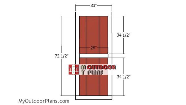 Door-frame-for-shed