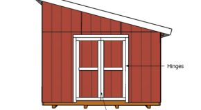 Doors for a Lean to Shed Plans