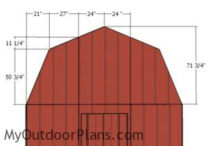 fitting-the-gambrel-end-panels